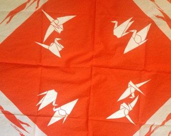 Paper Cranes 1950's Scarf