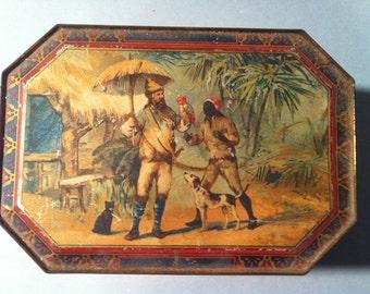 Peek Frean Robinson Crusoe Biscuit Tin