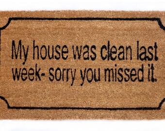 Doormat Clean House
