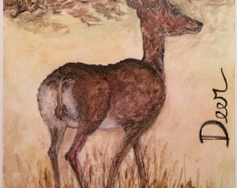 Animal Guide/Totem Prints