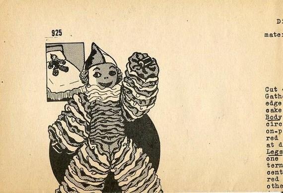 Free us ship mail order 925 clown yo yo doll vintage retro for Free craft catalogs mail