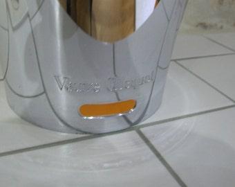 Veuve Clicquot // Veuve Clicquot Champagne Bucket// Champagne Bucket//Champagne Ice Bucket//Veuve Clicquot Champagne Ice Bucket