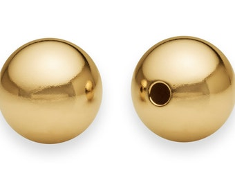 1 Pc 10 mm 14K Gold Filled Round Bead Seamless (GF520110)