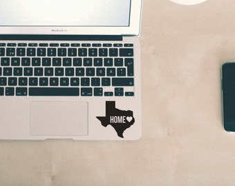 Texas Home <3 Decal Sticker