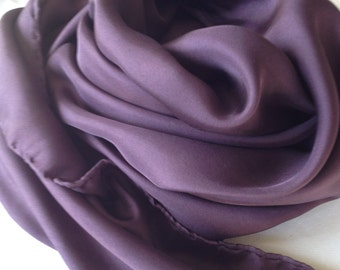 Pure silk scarve, naturals dyes