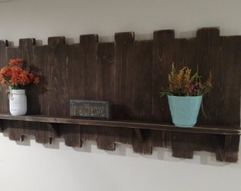 Large Wall Shelf , Wall Decor, Living Room , Country Living, Rustic Decor, Part 94