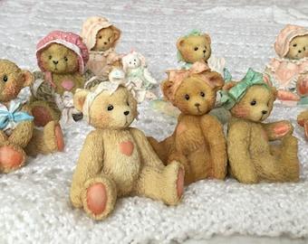 Cherished Teddies set of 9