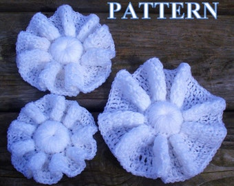 Crochet Flower PATTERN flower crochet pattern crochet flowers pattern PDF easy tutorial instant download PDF Pattern 067byOlgaAndrewDesigns©