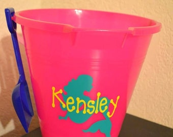 Personalized Sand Pails, Beach Pails,