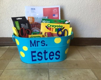 Personalized Teacher Gifts, Back-to-school gifts,