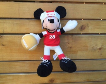 Vintage Sega 80's Mickey Mouse plush.