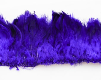 """purple plumage  feathers 2"""" - 3"""""""