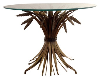 Regency Gold Wheat Sheaf Table