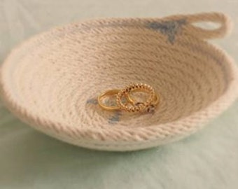 Cotton Rope Ring Dish