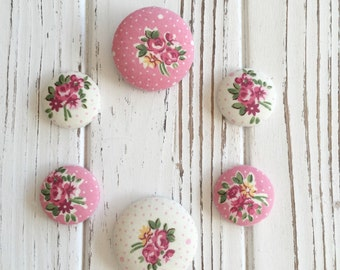 cute fabric covered button ponytail holder elastic band- PICK YOUR COLOR- ponytail holder- pigtail holder-button hair ties- hair ties