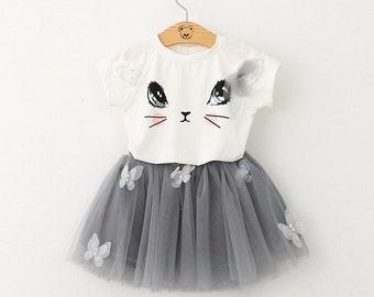 Kitty Tutu Dress