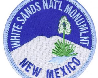White Sands National Monument Patch - New Mexico