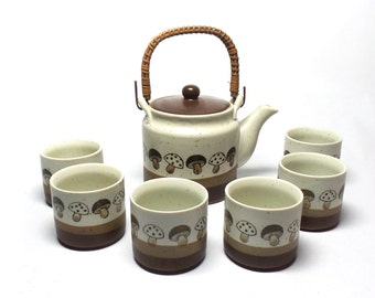Unique Japanese Tea Set Related Items Etsy