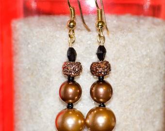 Chocolate Love - Dangle Earrings