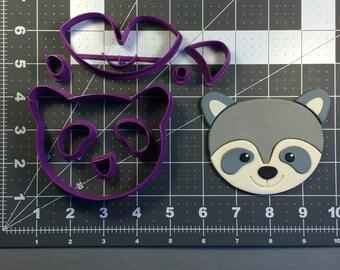 Raccoon Face 100 Cookie Cutter Set