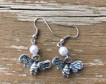 Mr & Mrs. Bee earrings