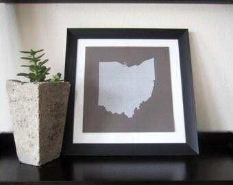 Ohio State Map