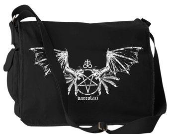 Varcolaci Satanic Vampire Laptop Bag Messenger Bag