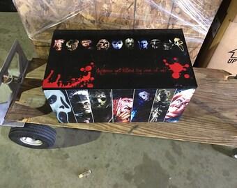 Halloween Scary Movie Storage Box