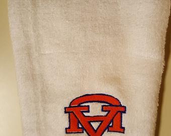 Hand Towel, Auburn, War Eagle