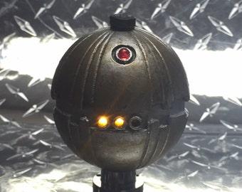 Star Wars Blaster Thermal Detonator 3D Printed with Electronics