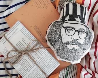 Allen Ginsberg Plushie Head