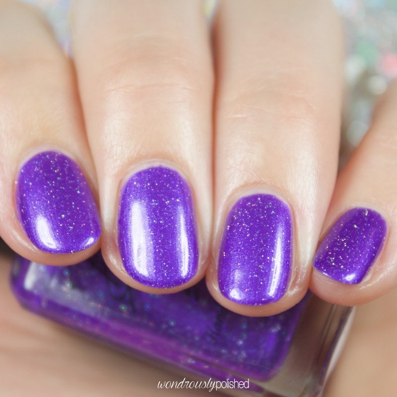 Purple Metallic Nail Polish From BellaBosio On