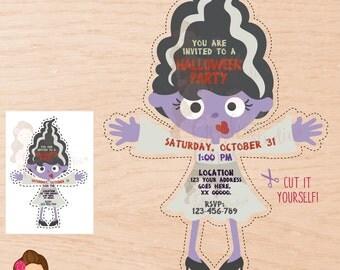 Halloween, Halloween party invitation, Halloween invitation, Halloween party, Halloween invite, Halloween Digital invitation, Printable