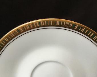 Noritake Goldlane pattern 6612, set of 4 Saucers