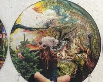 Earth vs Nature collage