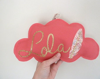 Cloud lin Liberty Adelajda pink and Golden customizable