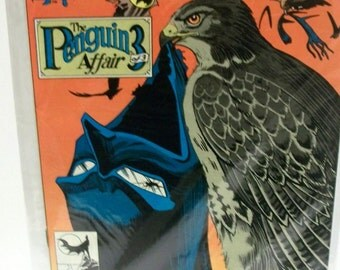 1990 Batman #449  The Penguin Affair  Pt 3 of 3 VF Vintage Doug Moench  DC Comic Book