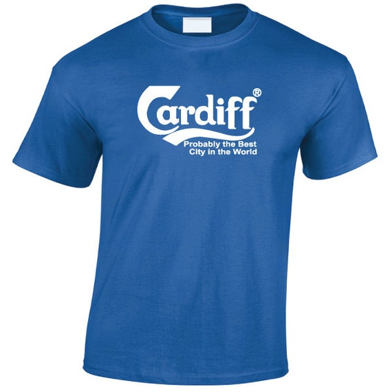 CARDIFF Carlsberg funny T-Shirt for Men, Women, Great Gift for anyone from the Welsh Capital City
