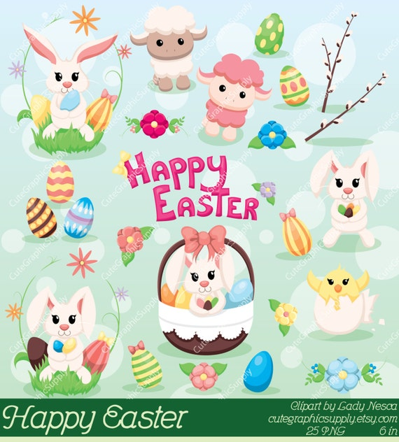Easter Clipart Clip Art Spring Bunny