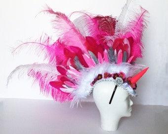 Pink Unicorn Mohawk