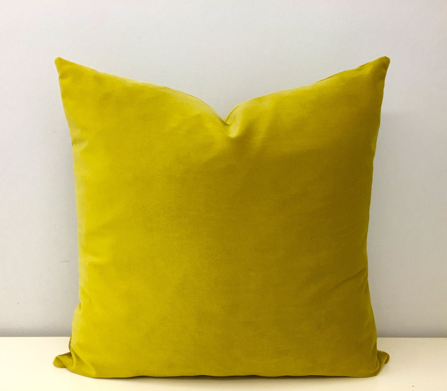 Mustard Throw Pillow Covers : Mustard Velvet Pillow Cover Mustard Pillows by artdecopillow