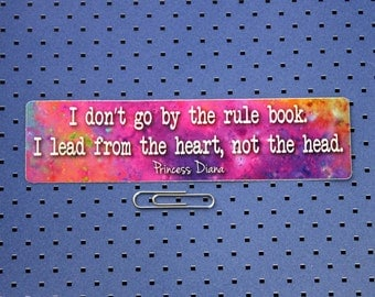 Princess Diana Quote Sticker