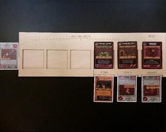 Boss Monster Laser Cut Wooden Player Mats (4 pack)