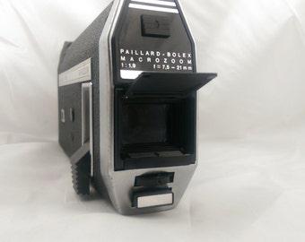 Vintage Super 8mm Camera - Bolex 7.5 MACROZOOM 1970 Canadian Edition. Rare
