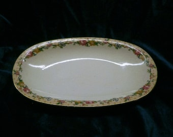 1900s Limoges 8 by 5 inch tray by C Ahrenfeldt