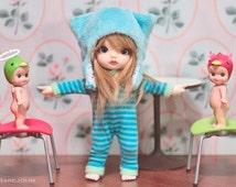 Bjd hat. Yosd hat. Kitty hat for bjd doll. Yosd size. Secretdoll Person size.