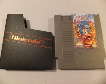 Trog Original NES Nintendo Vintage Video Game Cartridge
