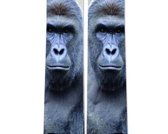 Harambe The Gorilla Big Crew Socks NEW