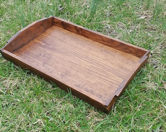 Handcrafted Hardwood Serving Tray