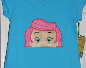 CYBER SALE, Bubble Guppy shirt, Molly Bubble Guppy, girl shirt, girl t-shirt, Bubble Guppy shirt